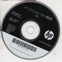 Cd De Instalação Para Impressora Hp Officejet Pro8000 - A811