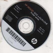Cd De Instalação Para Impressora Hp Deskjet 3510 - 3516