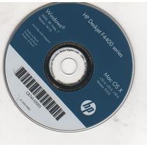 Cd De Instalação Para Impressora Hp Deskjet F4480 / F4400