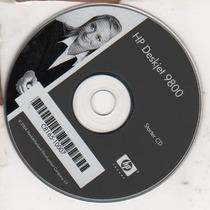 Cd De Instalação Para Impressora Hp Deskjet 9800