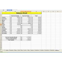 Planilha Fluxo De Caixa Excel - Empresa/pessoal/controle