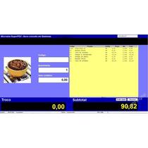 Sistema Pdv Controle De Estoque Com Frente Caixa C/ Fontes