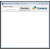 Programa / Software Simples Para Rastreamento Dos Correios.