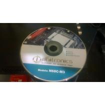 Dvd Original Da Placa Mãe Phitronics N68c-m3