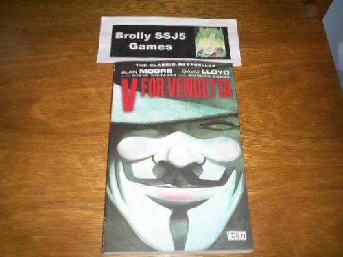 V For Vendetta - V De Vingança - Alan Moore - Graphic Novel