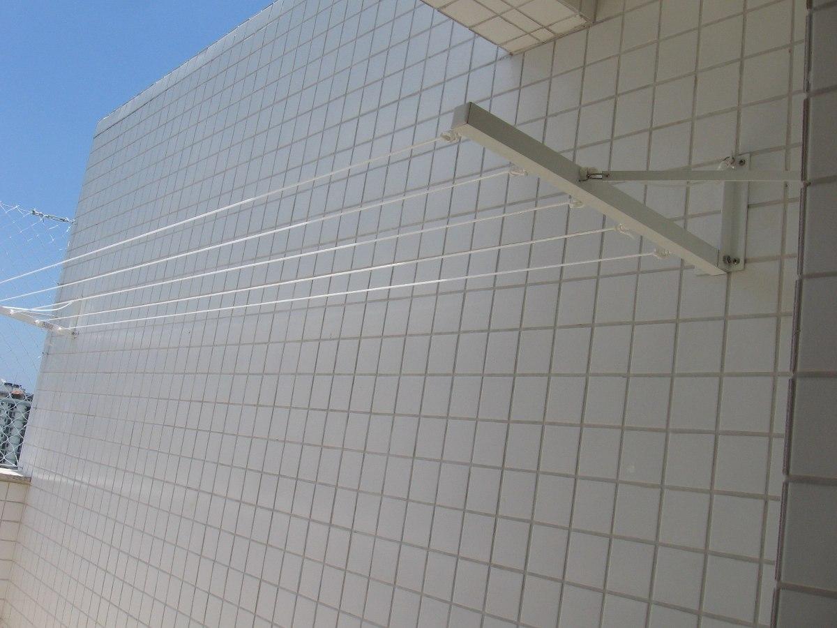Varal Externo Retratil 5 Cordas Parede/muro Não Enferruja R$ 134  #476484 1200 900