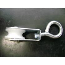 Roldana Varal Metal Com Plastico 2cm C/2pç