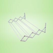 Varal De Parede Sanfonado De Alumínio De Alumínio 1,20m
