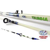 Vara Pesca Albatroz Tainha P/ Molinete 1,80m 10-20lbs 2 Part