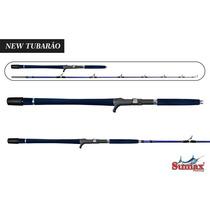 Vara Sumax New Tubarão N-ltb-58-4x5c 150-300g- Carretilha