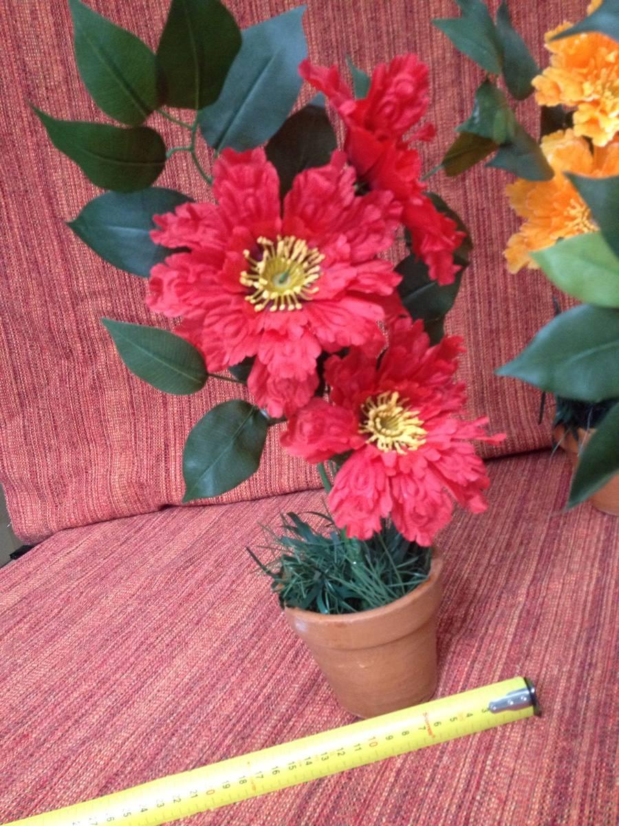 Vasos Decoração Com Flores Artificiais  R$ 8,80 no MercadoLivre -> Decoracao De Banheiro Com Flores Artificiais