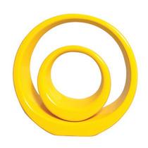 Vasos Aliança Amarelo - Objetos Para Decoração Cód Ov2228