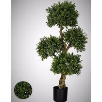 Arvore Buxus Verde 1,12m Planta Artificial Decoração