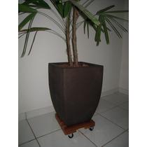 Suporte De Madeira Para Vasos De Plantas E Botijão De Gás