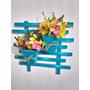Floreira Decorativa Artesanal - Flores Artificiais