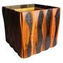 Cachepot Rústico Grande 50x50 Cm Madeira De Lei