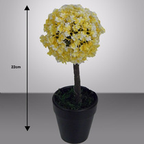 Vaso De Planta Diversas Cores 22 Cm (0318) Flor Artificial