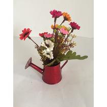 Arranjo Regador Mini De Flores Artificiais