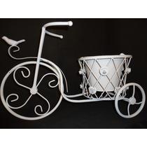 Bicicleta Porta Vaso/flores. Decoração Jardim, Festa. 45 Cm