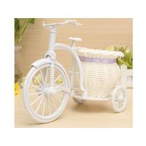 Cachepot Vaso Cesta Flores Bicicleta Triciclo Decoração