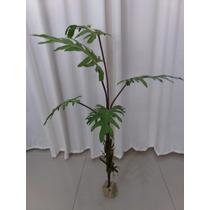 Planta Árvore Artificial Costela De Adão 98 Cm