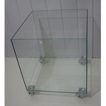 Vaso / Cachepot De Vidro 45 X 45 X 45 - 5mm
