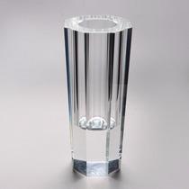 Vaso Segato 26cm Vidro Transparente R 3427