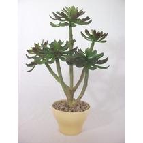 Planta Artificial C/ Vaso Decorativo Interno Foto Original 1