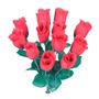 12 Botões Cores Diversas 32cm(07019)-flor Artificial