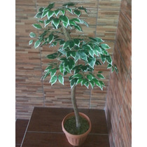 Planta Artificial 150cm Com Vaso Decorativo
