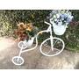 Bicicleta Decorativa Para Jardim Com Vasos Decoração De Casa