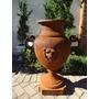 Vaso De Ferro- Decoração- Arte - Antiquário E Jardim - Vf037
