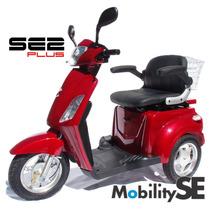 Scooter Se2 Triciclo Elétrico 800w Deficiente Idoso Cadeira