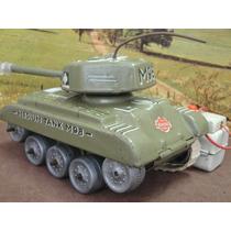 Gama - Tanque De Guerra - Antigo - Controle Remoto - Caixa