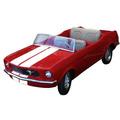 Mustang 1970 Restaurado (parque De Diversão)
