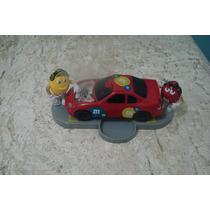 Brinquedo Antigo, Bonecos Chocolate M&ms Carro Nascar