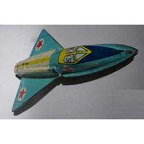 Avião De Lata Antigo, Convair F-106 A, Raro Brinquedo