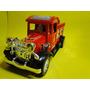 Caminhão Retro Vintage Bombeiro Comp.29cm Larg.9,5cm