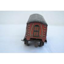 Antigo Brinquedo - Vagão De Trem - Lata - Gt Britain