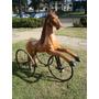 Belo Triciclo Cavalinho Antigo - Pedal Car/ Inglaterra /raro
