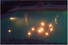 Vela flutuante para piscina - Velas para piscinas ...