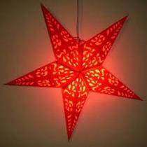 Luminária De Papel Estrela Lanterna Natal Ñ Chinesa Japonesa