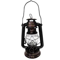 Lampião Envelhecido Cor Bronze Decorativo Luminaria 15 Leds