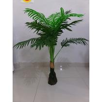 Planta Árvore Artificial Palmeira 90 Cm