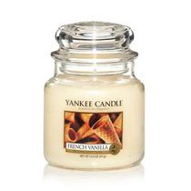 Vela Em Jarro Médio French Vanilla - Yankee Candle
