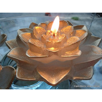 Flor De Lotus Grande P/ Piscina 15cm, Flutuante - Dura 12 Hs
