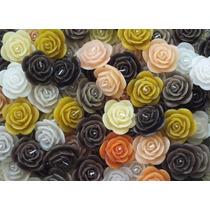 Velas Decorativas - Kit 10 Flores Flutuantes