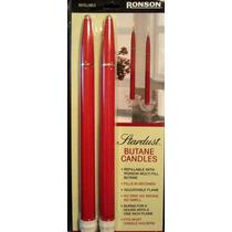 Velas Recarregáveis De Natal Ronson Stardust Butane Candles
