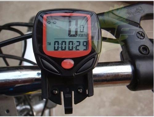 Velocimetro Digital Para Bicicleta Com 14 Funções