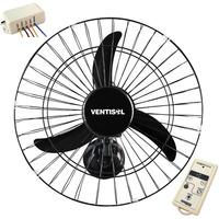Ventilador 50cm Oscilante Parede Ventisol Controle Remoto Bi